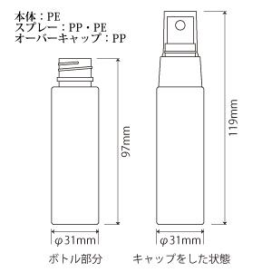 PEボトル 50ml